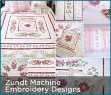 Machine Embroidery Designs with Patterns