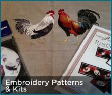 Embroidery Patterns & Kits